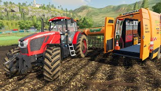 Tractor Failures and Hard day the Farm } Out of Fuel and Broken Zetor Crystal - Farming Simulator