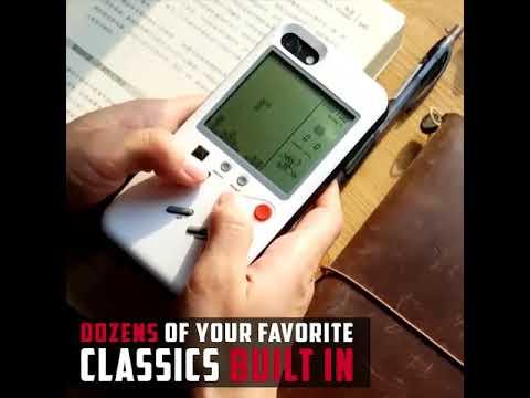 Retro Game Console iPhone Case
