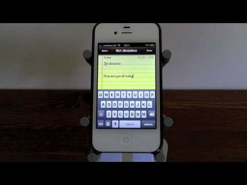 Siri - How to Use Punctuation with Speech to Text!
