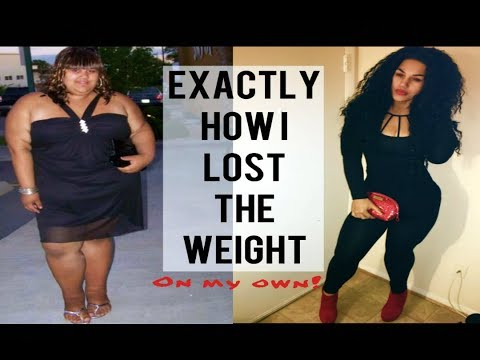 How I lost over 200lbs in 15 months
