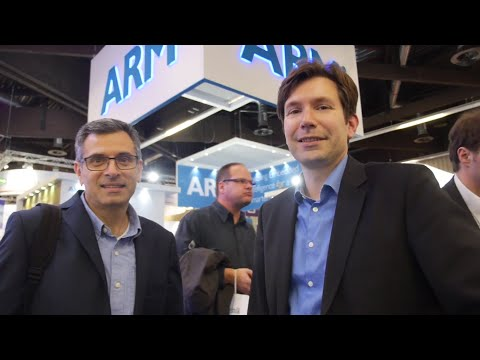 ARM Cortex-M processors are everywhere at Embedded World