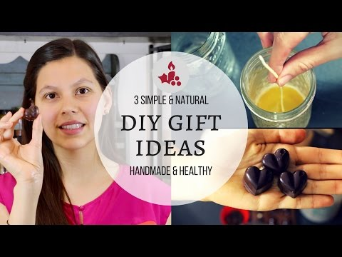 3 DIY GIFT IDEAS! | Simple, Natural & Handmade