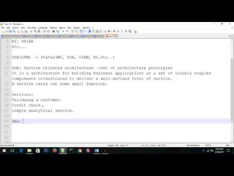 Oracle SOA 12c Introduction
