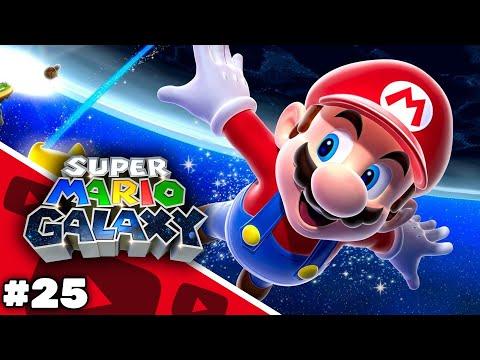 Super Mario Galaxy - Usine de créatures : Poulpoboss sur la planète de lave