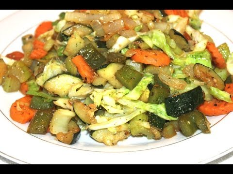 HOW -  TO COOK REAL JAMAICAN STEAMED VEGETABLE'S 1OO% REAL VEGETARIAN MEAL