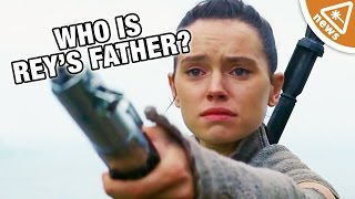 Did Daisy Ridley Just Confirm Who Is Rey's Father? (Nerdist News w/ Jessica Chobot)