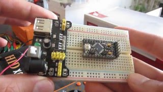 how to connect Pot in series with resistor