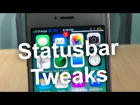 5 Statusbar Tweaks for iOS 11 - 11.1.2 [PART 1]