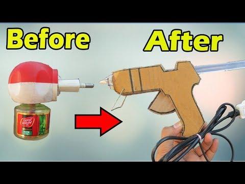 How To Make Glue Gun Using Mosquito Repellent Machine | Technical Ninja