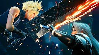 Final Fantasy 7 Remake All Sephiroth Encounters & Battles + Full Ending Boss Fight (2020) FF7 Remake