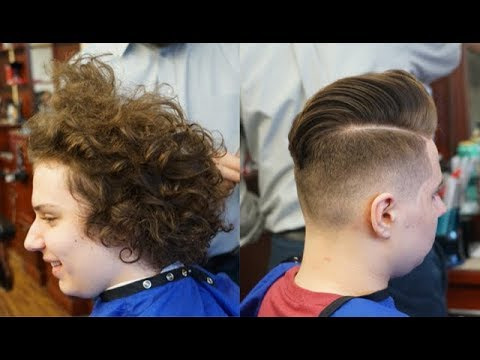Extreme Makeover: Long Hair to a Skin Fade with Pompadour Tutorial