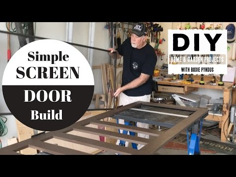 Simple Screen Door