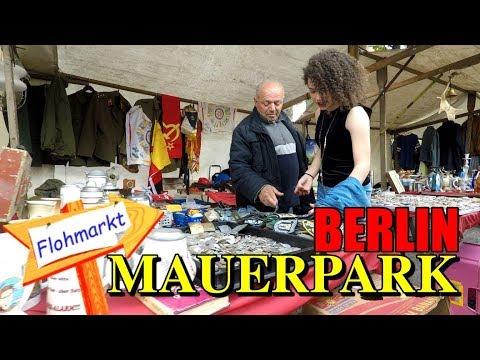 Mauerpark Fleamarket Berlin | Walking POV