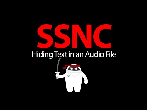 Tutorial: Hiding Text in an Audio File - SSNC