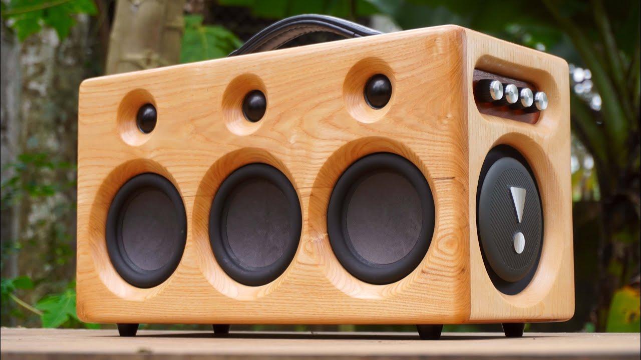 Pallet Bluetooth Speaker V3 DIY