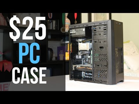 Is a $25 PC Case Any Good?! (XION XON 350)