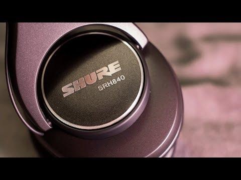 Shure SRH840 Studio Reference Headphones Review