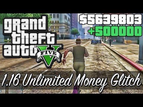 GTA 5 Online - Unlimited Money Glitch AFTER 1.16 PATCH!! (GTA 5 Online Glitch / Easter Egg Parody!)