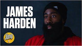 James Harden talks Rockets' small-ball lineup, MVP standings & Giannis' assist joke   The Jump