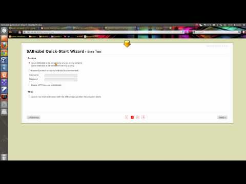 How to Setup SabNZBD+ To download from Usenet