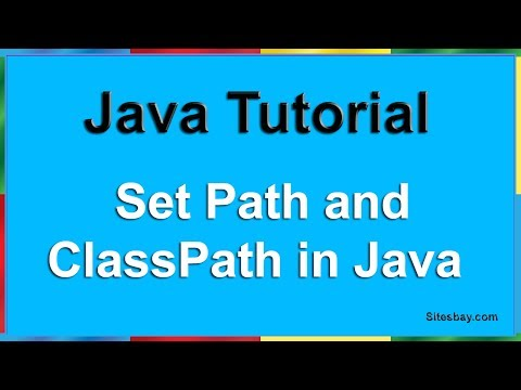 How to Set Path and Classpath in Java | How to Set Path and Classpath in Java in Window 10