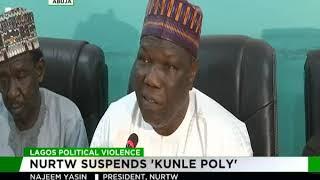 NURTW suspends Kunle Poly
