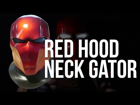 Red Hood Neck Seal EVA Foam DIY