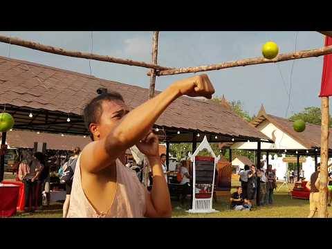 Muay Thai eyes training with lime balls