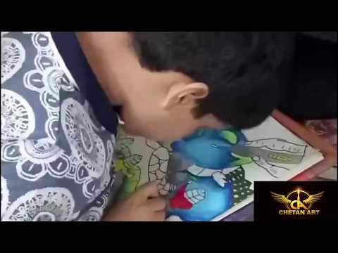 AMAZING  DRAWING ON GLOBAL WARMING FOR KIDS | CHETAN ART | POSTER || EASY DRAWING |