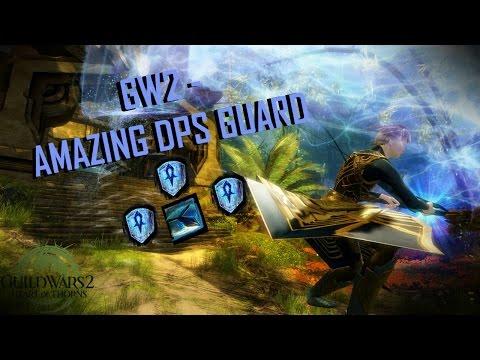 Guild Wars 2 - Raid DPS Guardian Build & Rotation l Guardian Gameplay 2017 l