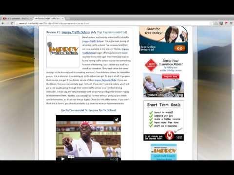 Florida Online Traffic School Reviews