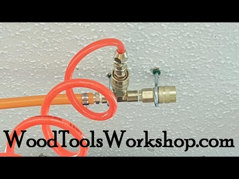 Run Compressed Air Lines in Your Shop