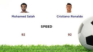 Mohamed Salah Vs  Cristiano Ronaldo