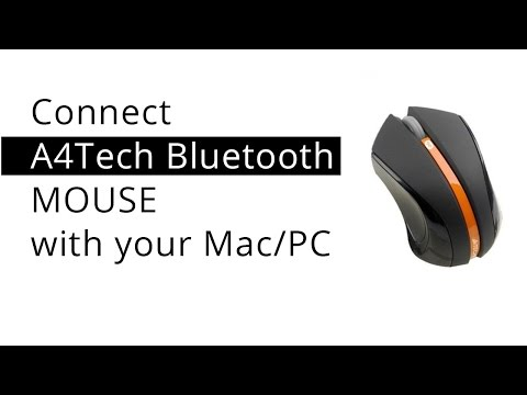Connect A4Tech Bluetooth Mouse to Mac/PC