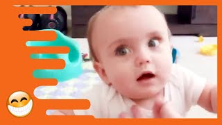 Try Not to Laugh with Funny Baby Video -  Best Baby Videos