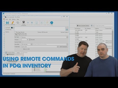 Using Remote Commands in PDQ Inventory