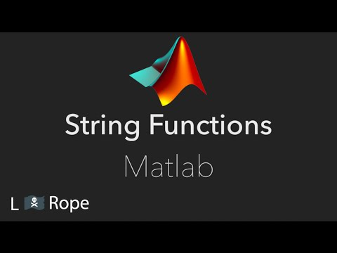 String Functions in Matlab