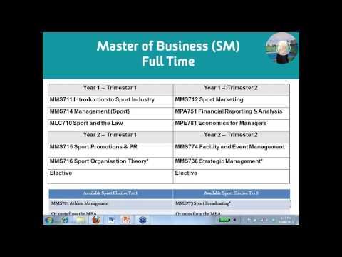 Make your business the sport business - Sport Management (Webinar)