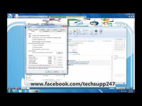 How to Correct Spell Checker in Windows Live Mail