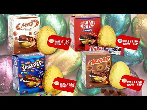 Tesco is selling £1.50  Nestle Easter eggs at half price from tomorrow - News 247