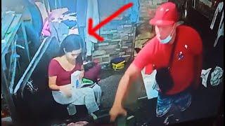 HULI SA CCTV! (Bobong magnanakaw, di alam na kinuhaan rin ni ate HAHA)