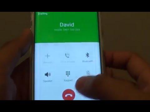 Samsung Galaxy S6 Edge: How to Make a Phone Call