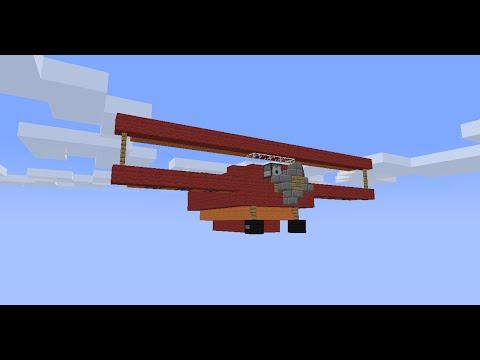 Minecraft: Working Plane (No Mods)