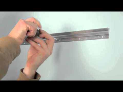 How to hang a mantle flush to the wall