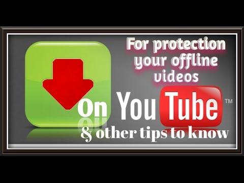 Solve problem of offline YouTube videos & other