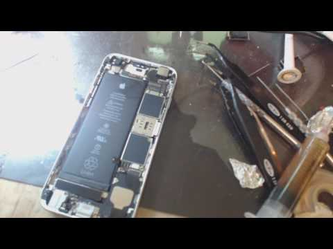 iPhone 6S no backlight track repair of damaged filter jumper part 1