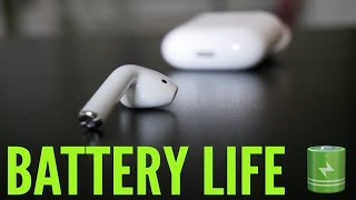 Apple Airpods [battery life Review]