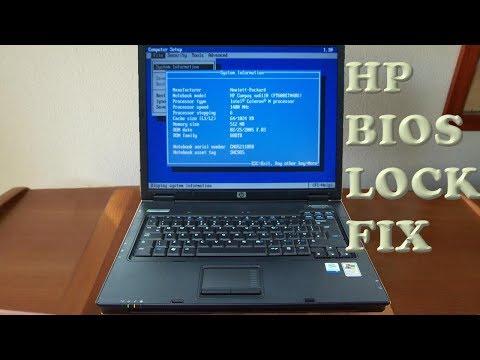 HP NX6110 wifi bios unlock (no whitelist)