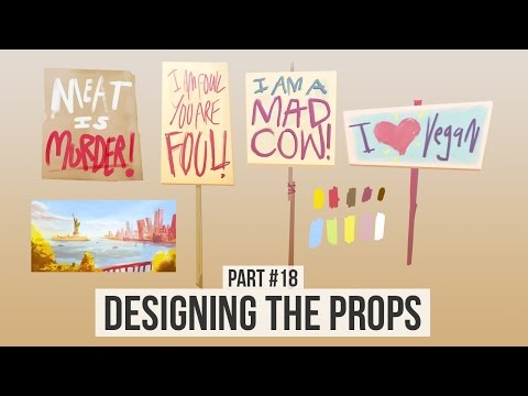 Designing the Props | Making an Animated Movie Season 2 (#18)