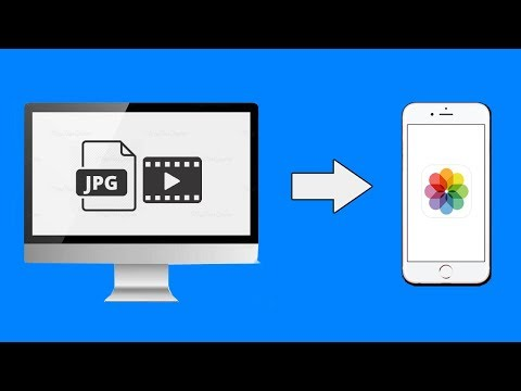 How to transfer Photos/Videos From Computer to iPhone/iPad Camera Roll